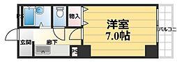 ジュネス福島[7階]の間取り