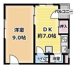 東口ビル[1階]の間取り
