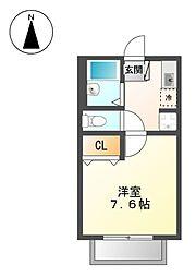 アベニュー[2階]の間取り