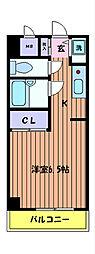 立川幸町クリスタルマンション[4階]の間取り