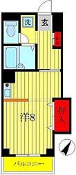 ラフィーヌ池田5番館[2階]の間取り