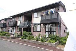 岡山県岡山市北区東花尻丁目なしの賃貸アパートの外観