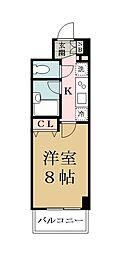 will Do越谷[5階]の間取り
