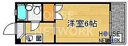ロイヤルコーポタカノ[122号室号室]の間取り