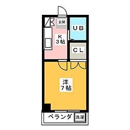 神谷ビル[2階]の間取り