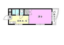トミーハウス[305 号室号室]の間取り