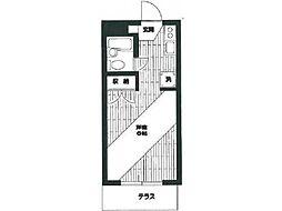 セビリア小川[1階]の間取り