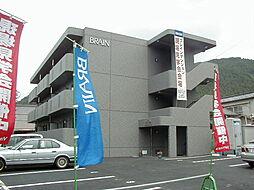 長野県松本市大字里山辺湯ノ原の賃貸マンションの外観