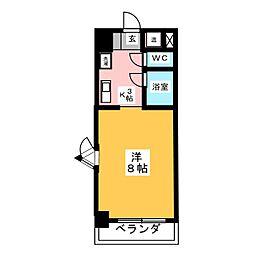 第7フクマルビル[3階]の間取り