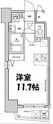 アクアプレイス南堀江[12階]の間取り