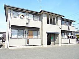 広島県福山市川口町2丁目の賃貸アパートの外観