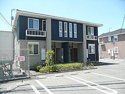 和歌山県岩出市波分の賃貸アパートの外観