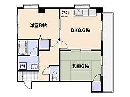 センチュリーガーデン[2階]の間取り