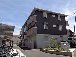 徳島県徳島市中吉野町2丁目の賃貸アパートの外観