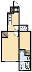 メゾン・ド・アリエッタ[1階]の間取り