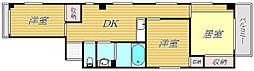 パークインお花茶屋[3階]の間取り