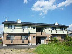 滋賀県蒲生郡日野町大字内池の賃貸アパートの外観