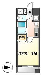 プレサンス桜通り葵[9階]の間取り