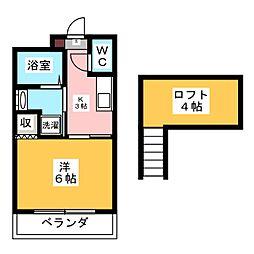 第二五十嵐マンション[3階]の間取り
