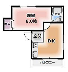 アバカス大和田[3階]の間取り