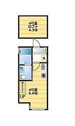 パース西戸部[2階]の間取り