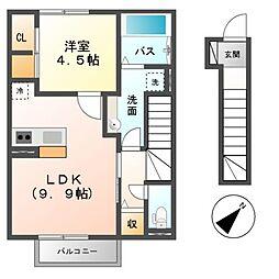 仮)D-room星見が丘5丁目[2階]の間取り