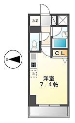 スペーシア堀田[5階]の間取り