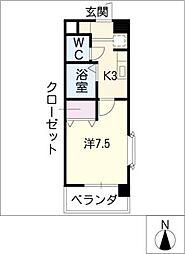 シャトルヨシモ[2階]の間取り