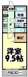 JR仙山線 東照宮駅 徒歩6分の賃貸マンション 1階1Kの間取り