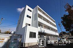 愛知県豊田市亀首町東畑の賃貸マンションの外観