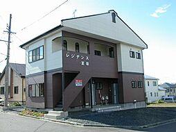 レジデンス夏坂[102号室]の外観