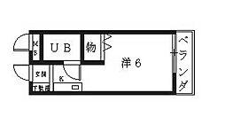 ハートフル青山[305号室号室]の間取り