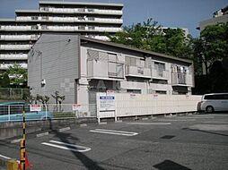 コーポ栄1[2階]の外観