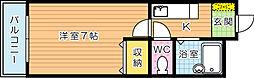 ISHIGAKI.BLD[2階]の間取り