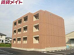 三重県鈴鹿市稲生塩屋2丁目の賃貸マンションの外観