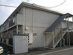 岩手県滝沢市篠木明法の賃貸アパートの外観