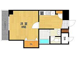 ビガーポリス133宝塚[7階]の間取り