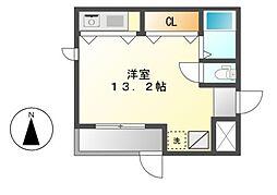 HK2 east[1階]の間取り