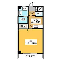 ドリームタウンTAKAII[3階]の間取り
