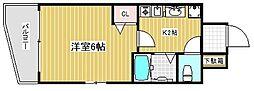 エステムコート神戸元町通[5階]の間取り