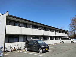 埼玉県北足立郡伊奈町小室の賃貸アパートの外観