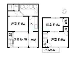 丹波口駅 5.5万円