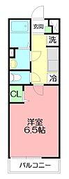 神奈川県藤沢市湘南台6の賃貸マンションの間取り