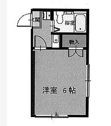 福山マンション[2階]の間取り