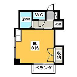 メゾンド岡野[3階]の間取り