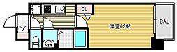 ララプレイス大阪城公園ヴェルデ[5階]の間取り