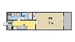 セレブ上小阪[2階]の間取り