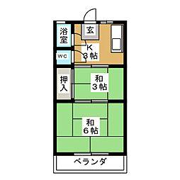 星ヶ丘駅 2.0万円