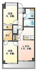 ヴィラスペランツァ[5階]の間取り