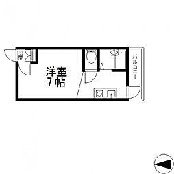 清洲プラザ高井田[402号室号室]の間取り